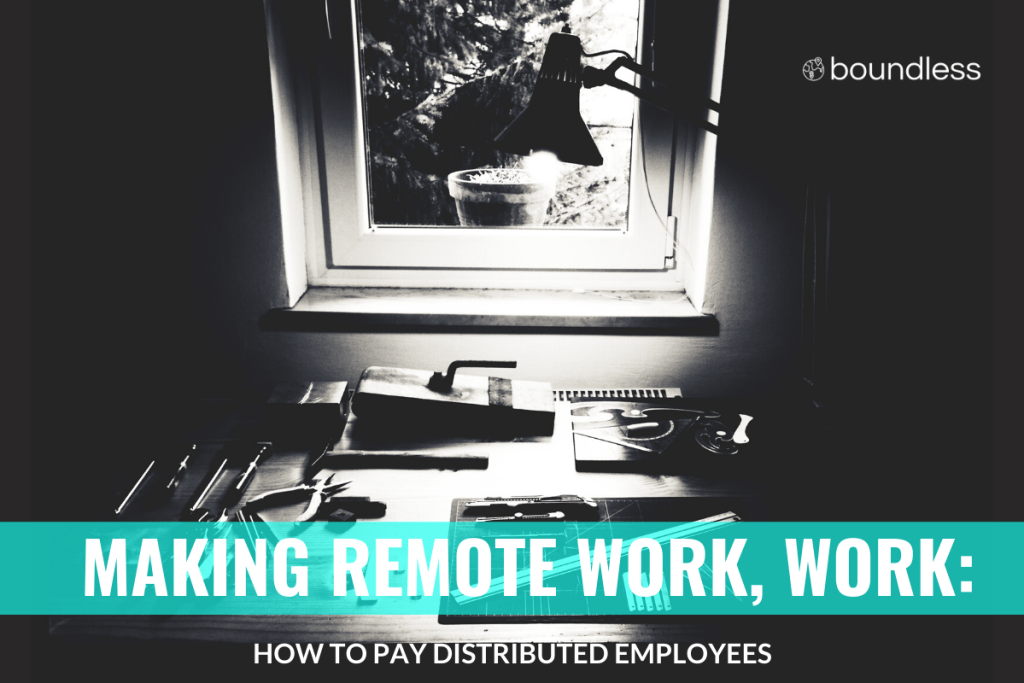 how to pay remote workers