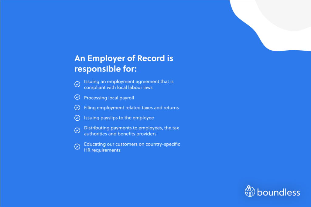what an employer of record could do for you
