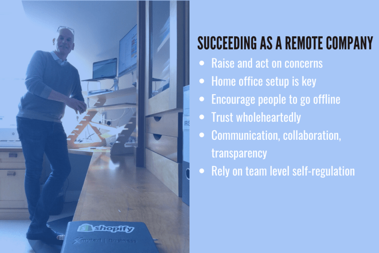 succeeding as a remote according to Shopify