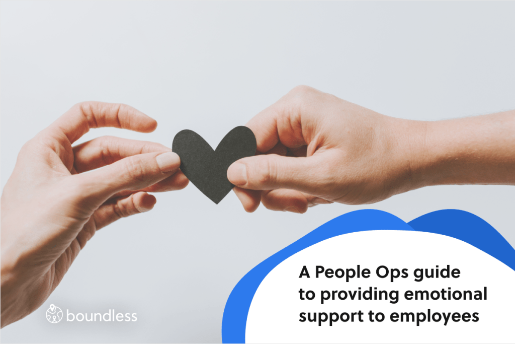 People Ops guide to providing emotional support