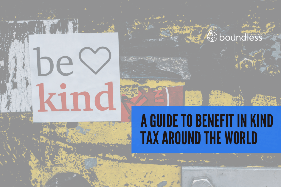 Benefit in kind tax
