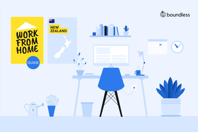 guide to working from home in New Zealand