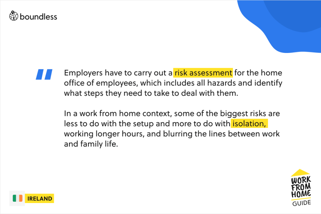 work from home risk assessment