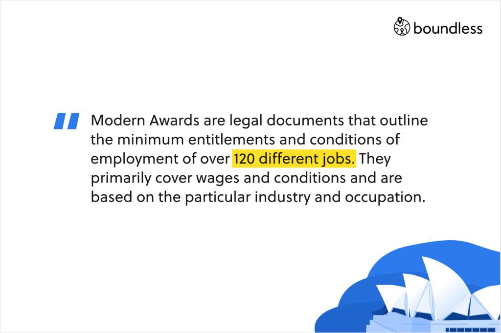 Modern awards Australia