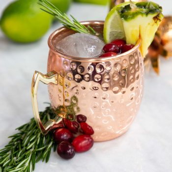 The Perfect Holiday Moscow Mule Recipe