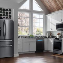 Stainless Kitchen Sets On Sale Samsung Black Steel Vs