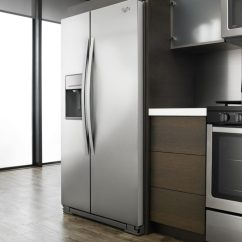 Kitchen Refrigerator Remodel Ideas For Small Kitchens Finding The Perfect Fridge From Top To Bottom Whirlpool Side By