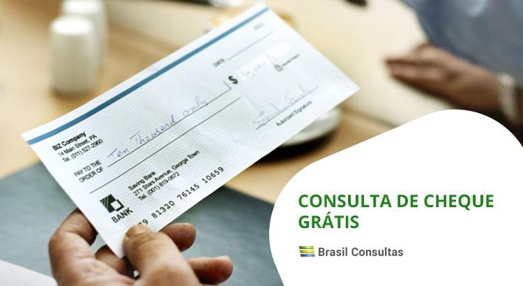 consulta de cheques grátis