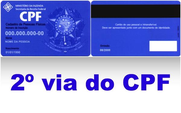 Como tirar a segunda via do CPF? - Brasil Consultas Blog