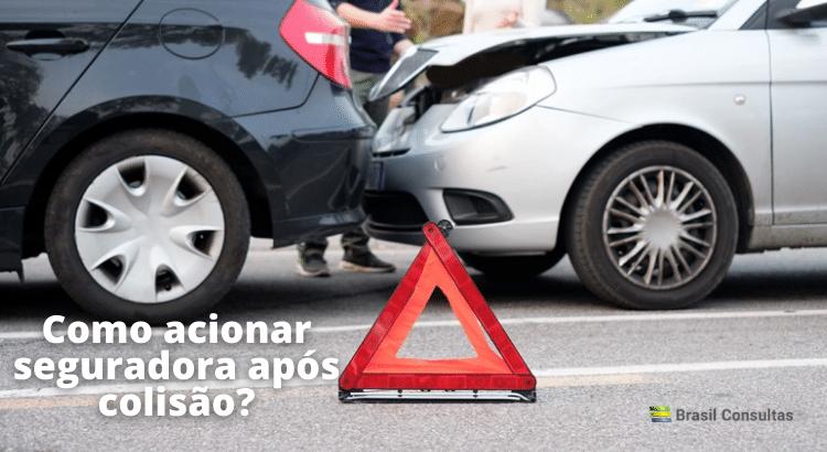 Como acionar seguradora após colisão?