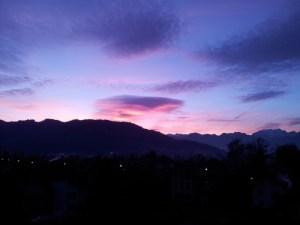 Szenenwahl: Morgendämmerung