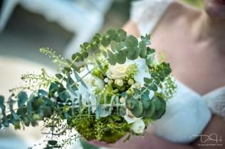 Der Brautstrauß fotografiert vom Hochzeitsfotografen.