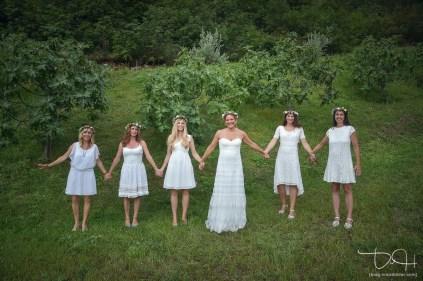 Tolle Gruppenbilder fotografiert der Hochzeitsfotograf.