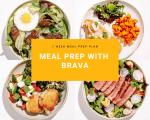 Brava Meal Prep 1 week plan