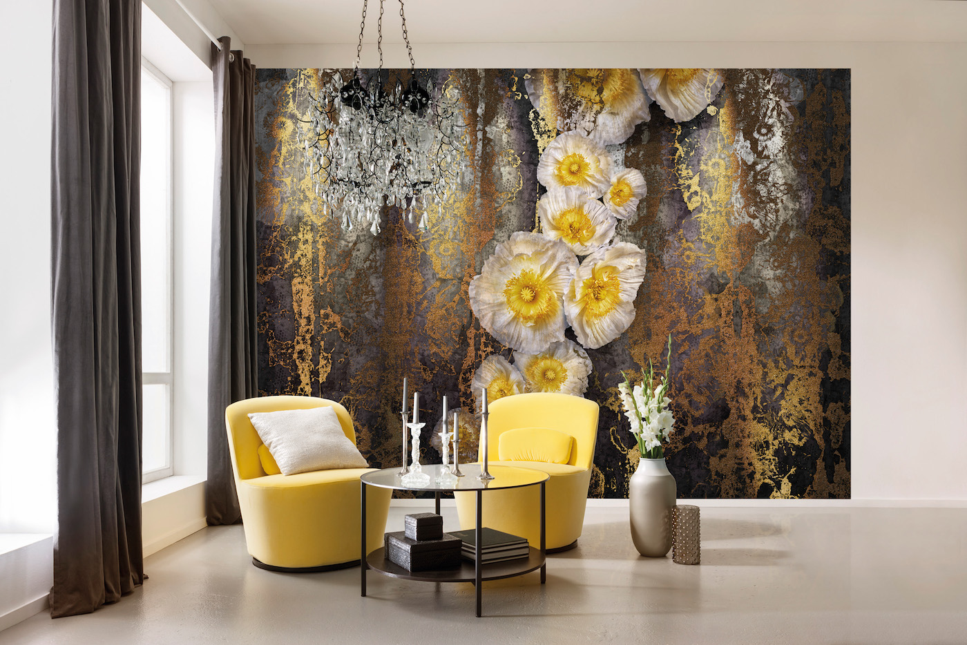contemporary wall mural