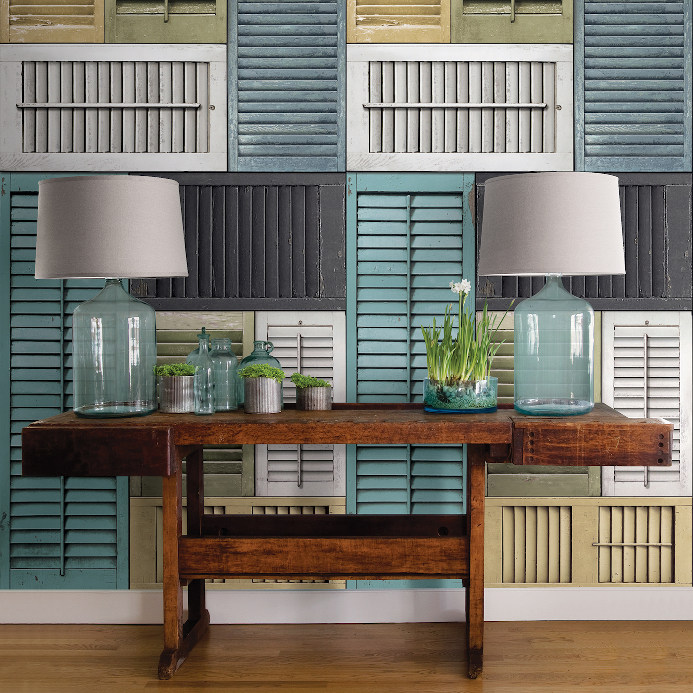 Shabby Chic Decorating With Salvaged Shutters Brewster Home
