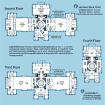 Texas Capitol Building Map 2