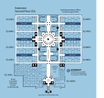 Texas Capitol Extension Map 2