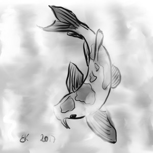 How to Draw A goldfish  - Sketch 35
