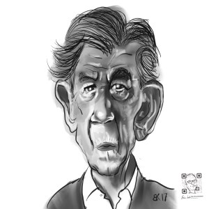 How to Draw Ian McKellen - Sketch 46