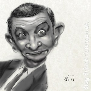 Mr. Bean Caricature - Sketch 96