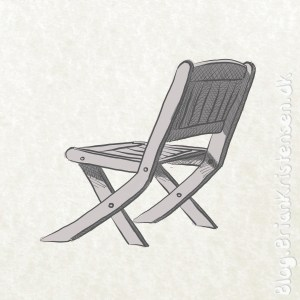 How to Draw a Garden Chair - Sketch 129