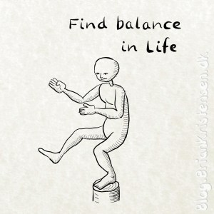 Find Balance in Life - Sketch 196