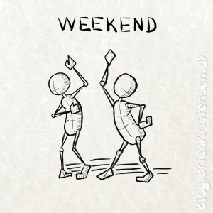 It's Weekend - Sketch 199