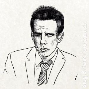 How to Draw Ben Stiller From Zoolander - Sketch 236