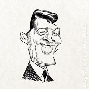 How to Draw Dean Martin Caricature - Sketch 237