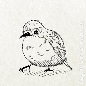 How to Draw a Bird - Sketch 252