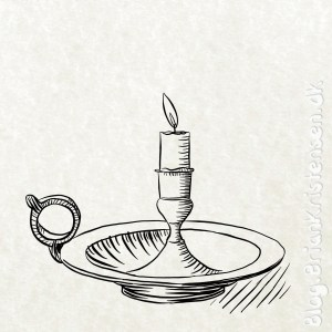 How to Draw a Vintage Old Candlelight - Sketch 274