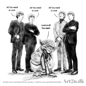 Yoda vs the Beatles - Sketch 479