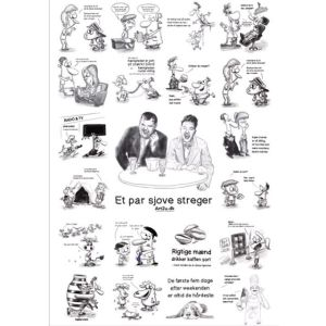 Funny Drawings on Poster - Sketch 589