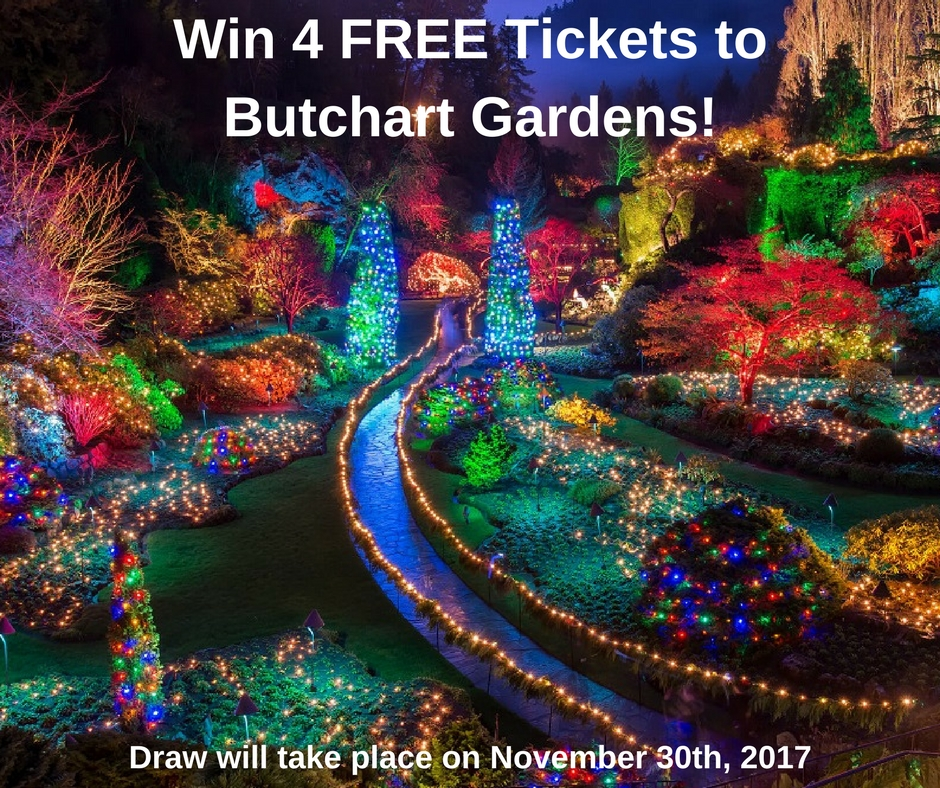 Win 4 Free Butchart Garden Tickets!!!  Briar Hill Group Blog