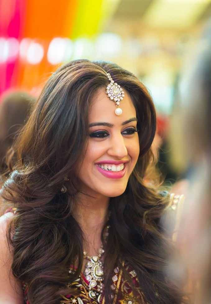 mehndi hair style ideas for the bride's best friend - bridals.pk