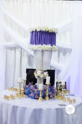 Table Scape for Place Cards