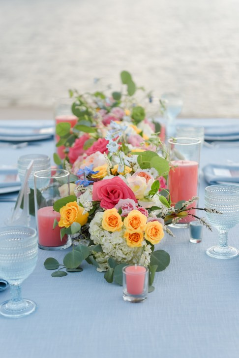 Symphony Weddings & Events Creates a Dream Lakeside Wedding Using the Top 2019 Color Trends of The Year