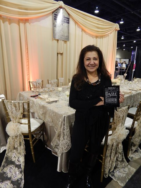 Jovani Linens Wins Dazzle Award