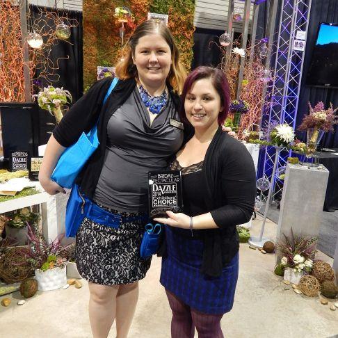 Enchanted Florist Wins Dazzle Award!