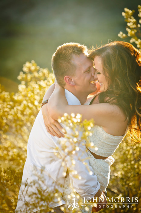 Engagement Photo Captures Romance by John Morris Photography