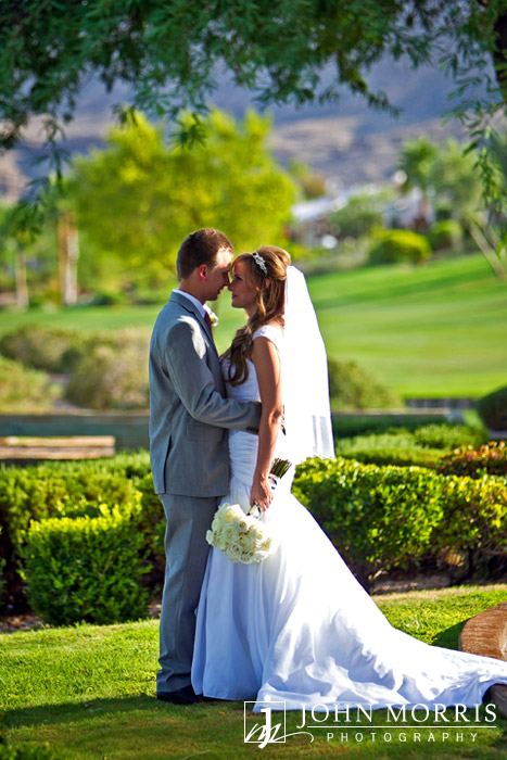 Outdoor Las Vegas Wedding at Siena Golf Club by John Morris