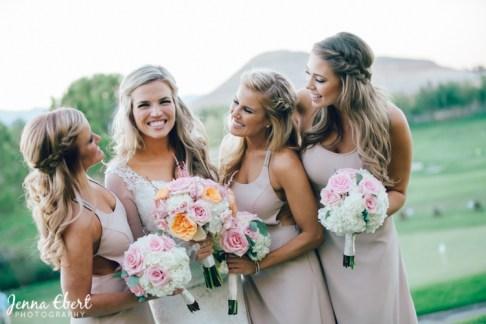 Real Las Vegas Weddings in Spectacular Bride by Jenna Ebert