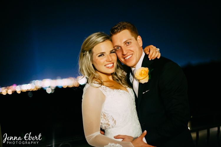 Real Wedding Spectacular Bride by Jenna Ebert