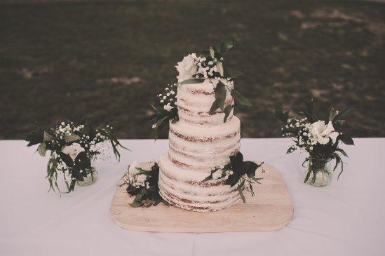 Wedding Cake & Bud Vass
