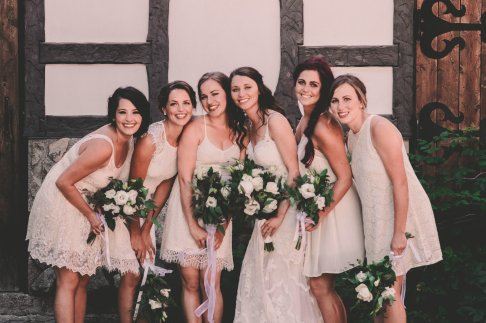 Brides & Bridesmaid Bouquets