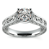 Antique Style Wedding Rings That Are Conflict Free - The ...