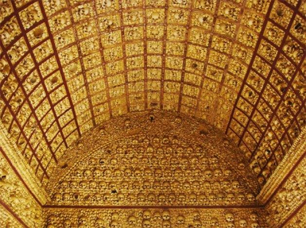 Bones Chapel Capela dos Ossos Evora Portugal