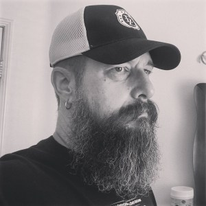 Steve McHenry - 9 month beard