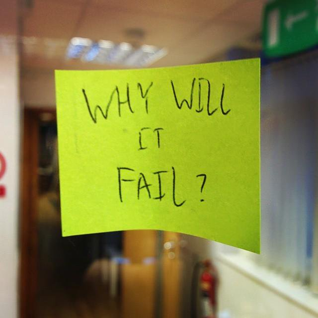 Why will it fail?